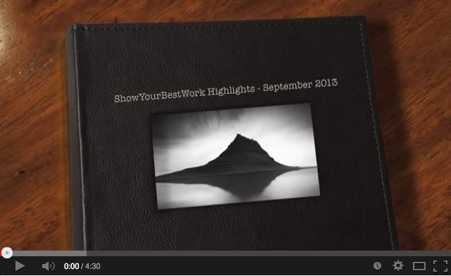 ShowYourBestWork Highlights September 2013